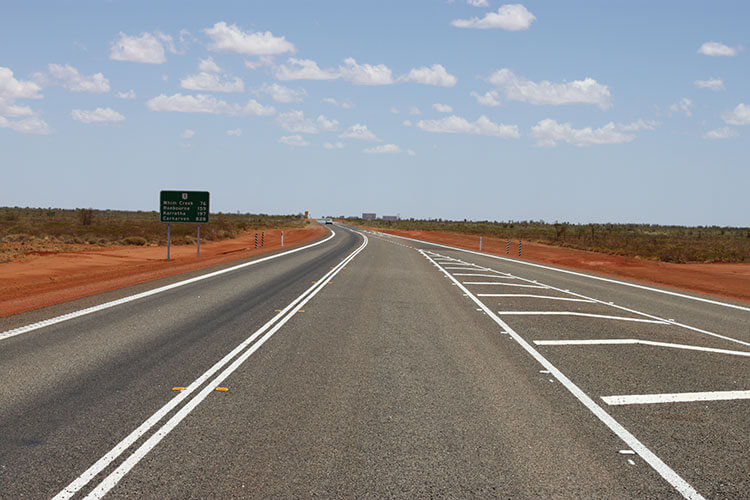 Great Northern Highway Road Maintenance Perth